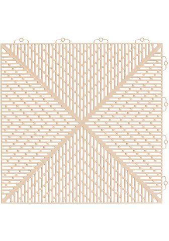 Bergo Flooring Terrassenplatten »Unique Sand« 38x38 c...