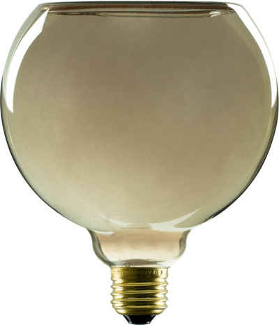 SEGULA »LED Floating Globe 150 smokey grey« LED-Leuchtmittel, E27, 1 Stück, Extra-Warmweiß, Dimmbar, schwebendes Licht, LED Rauchglas