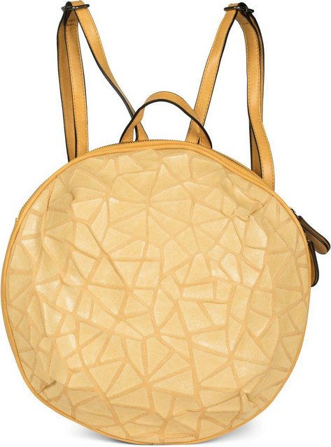 styleBREAKER Daypack, Rucksack Handtasche Rund Prisma Look | Taschen > Handtaschen > Rucksackhandtaschen | styleBREAKER