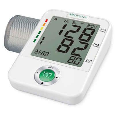 Medisana Blutdruckmessgerät Medisana Oberarm-Blutdruckmessgerät BU A50 Weiß 51172