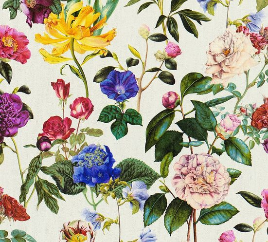 A.S. CRÉATION Vliestapete »Jette Joop tropisch floral natürlich«