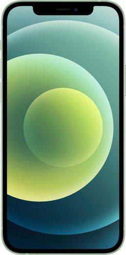 Apple iPhone 12 Smartphone (15,5 cm/6,1 Zoll, 128 GB Speicherplatz, 12 MP Kamera, ohne Strom Adapter und Kopfhörer, kompatibel mit AirPods, AirPods Pro, Earpods Kopfhörer)