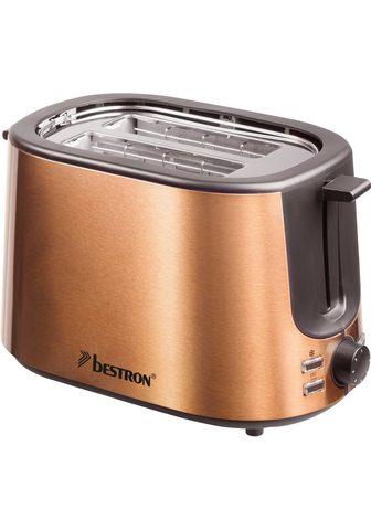bestron Toaster ATS1000CO 2 kurze Schlitze dėl...
