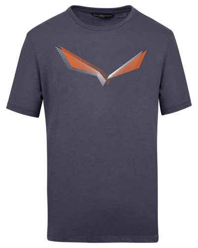 Salewa T-Shirt »Herren Outdoor T-Shirt LINES GRAPHIC DRY«