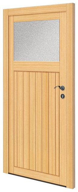 RORO TÜREN & FENSTER Nebeneingangstür »OTTO 25«| BxH: 88x198 cm| Fichte| ohne Griffgarnitur | Baumarkt > Modernisieren und Baün > Türen | RORO Türen & Fenster