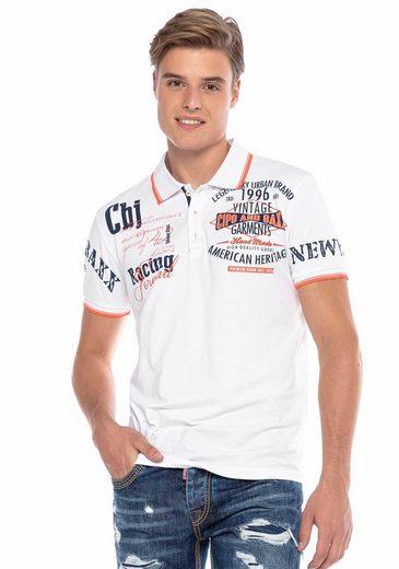 Cipo & Baxx Poloshirt »American Heritage«