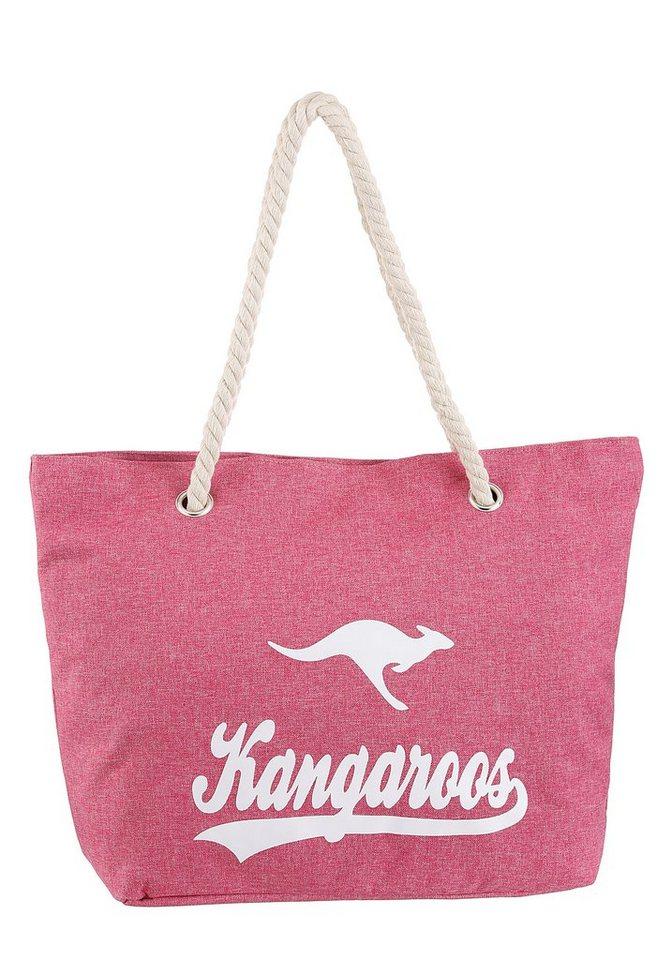 kangaroos -  Strandtasche, ideal für den Strand