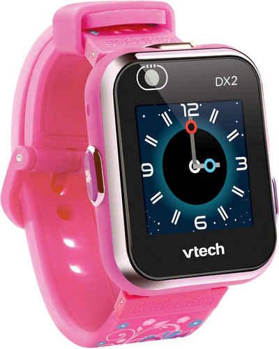 Vtech® Lernspielzeug »KidiZoom Smart Watch DX2, pinkflower«, mit Kamerafunktion