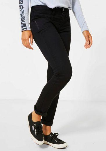 STREET ONE Slim-fit-Jeans »Jane« mit Gesäßtaschen