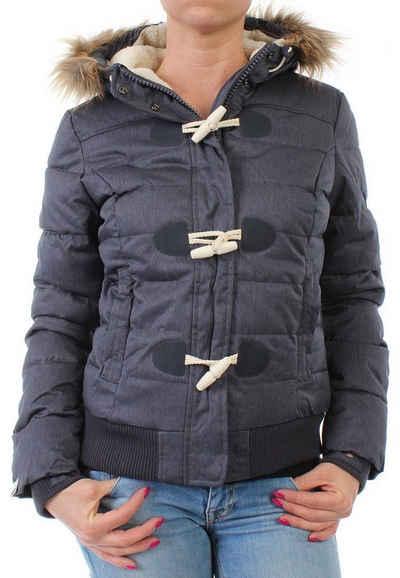 Superdry Winterjacke »Superdry Jacke Women MARL TOGGLE PUFFLE Navy Marl«