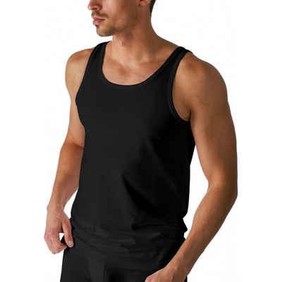 Mey Unterhemd »Dry Cotton Athletic Shirt - Unterhemd« (1 штука), Körpernahe Passform, Mit Klimaanlage, Breite Träger mit Rundhalsausschnitt