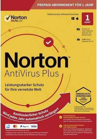 Norton 2 GB Cloud-Speicherplatz (Download-Cod...