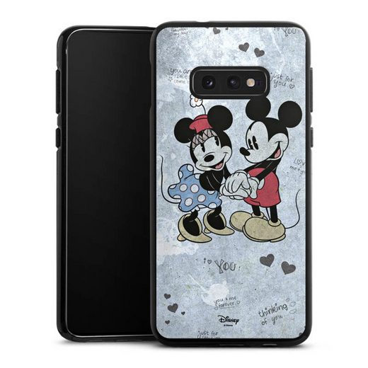 DeinDesign Handyhülle »Mickey&Minnie In Love« Samsung Galaxy S10e, Hülle Offizielles Lizenzprodukt Minnie Mouse Mickey Mouse