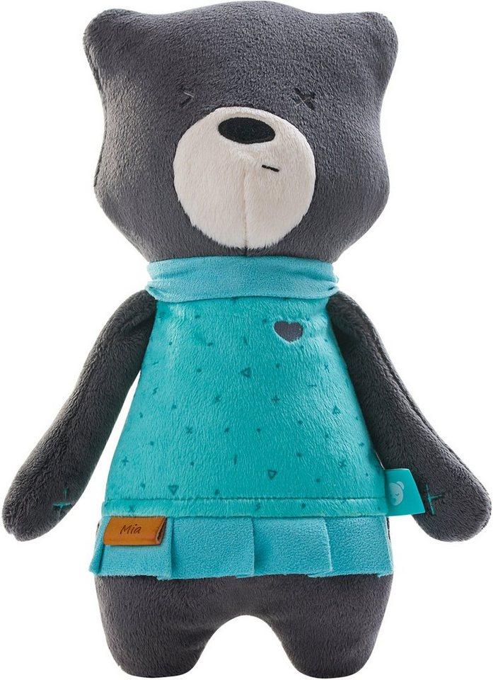"""MyHummy TeddyBär /""""Lena/"""" Baby Einschlafhilfe Plüsch Kuschel Tier mit Schlafsensor"""