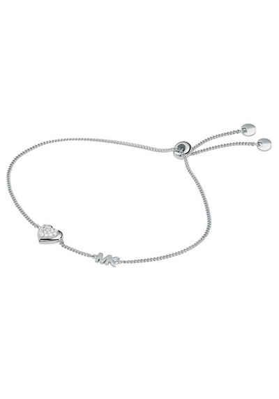 MICHAEL KORS Silberarmband »Herz, PREMIUM, MKC1455AN040«, mit Zirkonia