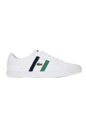 Lacoste »Lacoste Herren Sneaker LEROND 119 7-37CMA0045042 Wht/Nvy Weiss« Sneaker