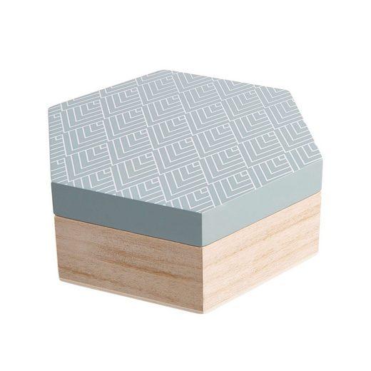 BUTLERS ARTS & CRAFTS »Box Hexagon Größe M«