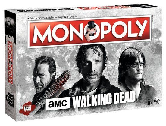 Winning Moves Spiel, Brettspiel »Monopoly The Walking Dead AMC«