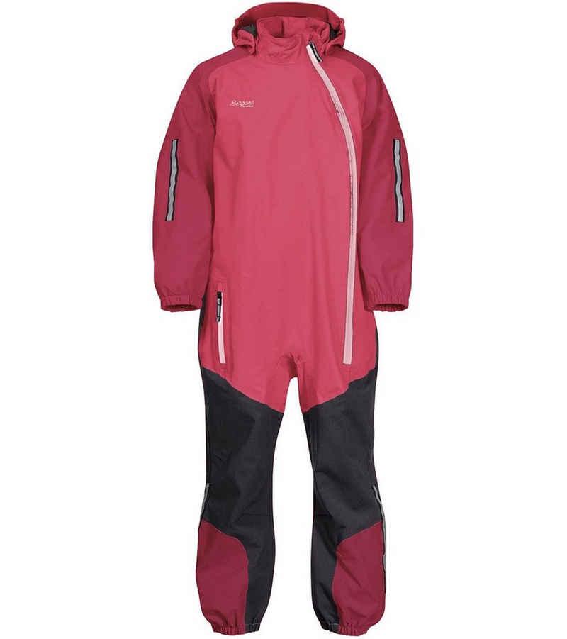 Bergans Softshelljacke »Bergans Lilletind Overall wasserdichter, robuster Kinder-Overall für Outdoorspaß bei jedem Wetter Einteiler Pink«
