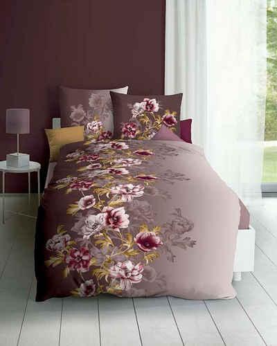 Bettwäsche »Victoria«, Kaeppel, mit satten Blüten