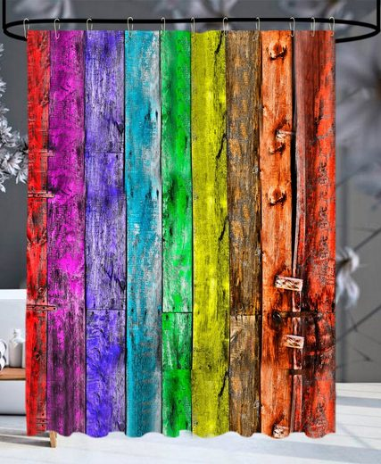 Sanilo Duschvorhang »Rainbow« Breite 180 cm, Höhe 200 cm