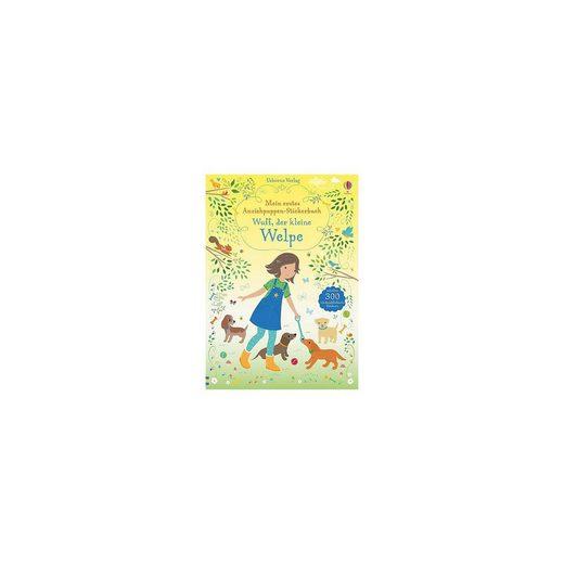 Usborne Verlag Mein erstes Anziehpuppen-Stickerbuch: Wuff, der kleine Welpe