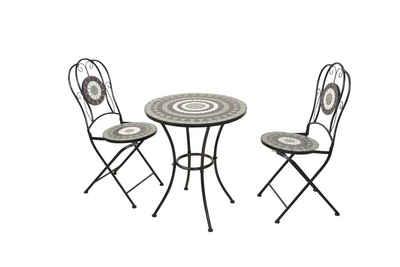 moebel-direkt-online Gartenstuhl »Bodo«, mit 2 Stühlen, 1 Tisch