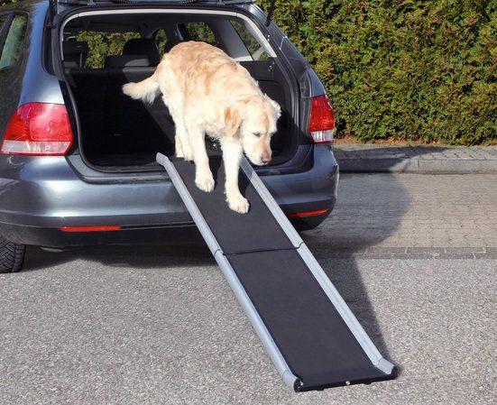 TRIXIE Hunderampe »Petwalk, aufklappbar«, BxL: 38x155 cm, belastbar bis 75 kg