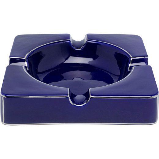 KARE Aschenbecher »Aschenbecher Symmetric Blau«
