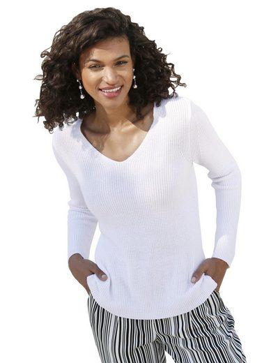 Casual Looks V-Ausschnitt-Pullover »Pullover«