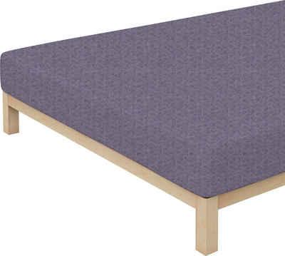 Spannbettlaken »Donegal«, Schlafgut, passend zu Bettwäsche und Kissenbezug