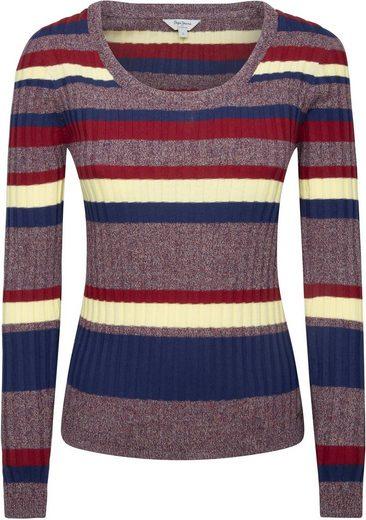 Pepe Jeans Rundhalspullover »NICE« im mehrfarbigen Streifen-Design