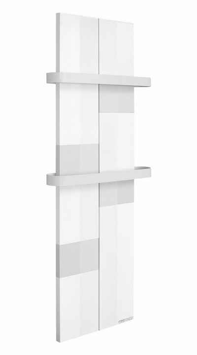 Finesa Badheizkörper »Design-Badheizkörper, Handtuchwärmer, Wärmeabgabe 400-700 W, Mittelanschluss, Handtuchtrockner«