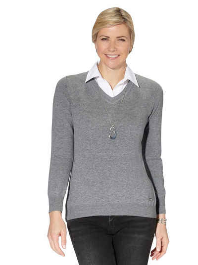 Casual Looks 2-in-1-Pullover »Pullover«