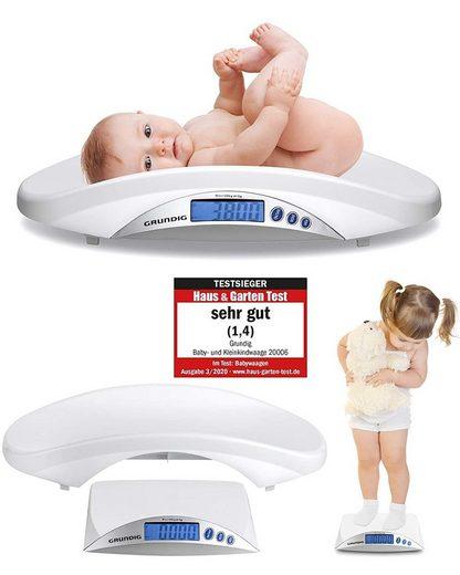 Grundig Personenwaage »Digitale Babywaage Stillwaage«
