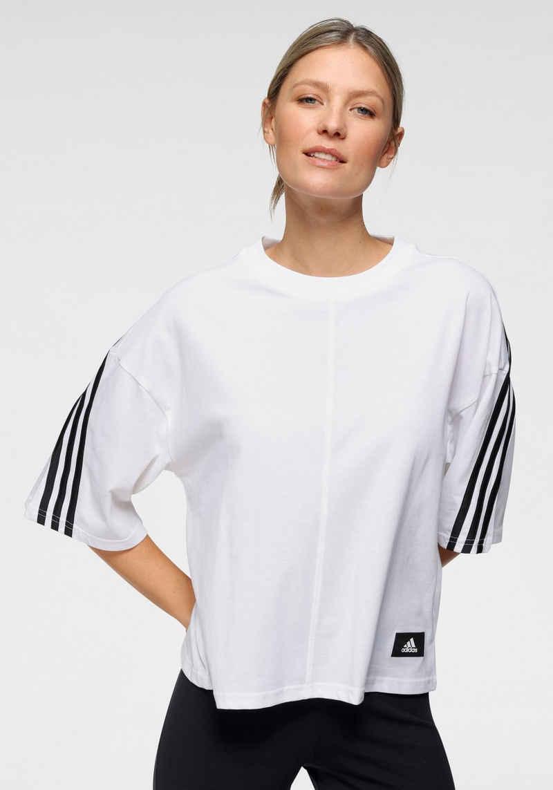 adidas Performance T-Shirt »FUTURE ICON 3STRIPES TEE«