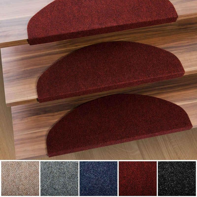 Stufenmatte »Denver«, Kubus, Halbrund, Höhe 4.4 mm, Günstiger Stufenschutz