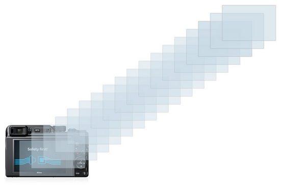 Savvies Schutzfolie »für Nikon Coolpix A1000«, (18 Stück), Folie Schutzfolie klar