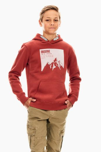 Garcia Sweater mit Aufdruck