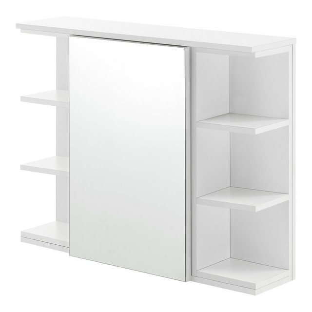 Spiegel - en.casa Badezimmerspiegelschrank »Harstad« Wandschrank mit verspiegelter Tür und Ablagen  - Onlineshop OTTO