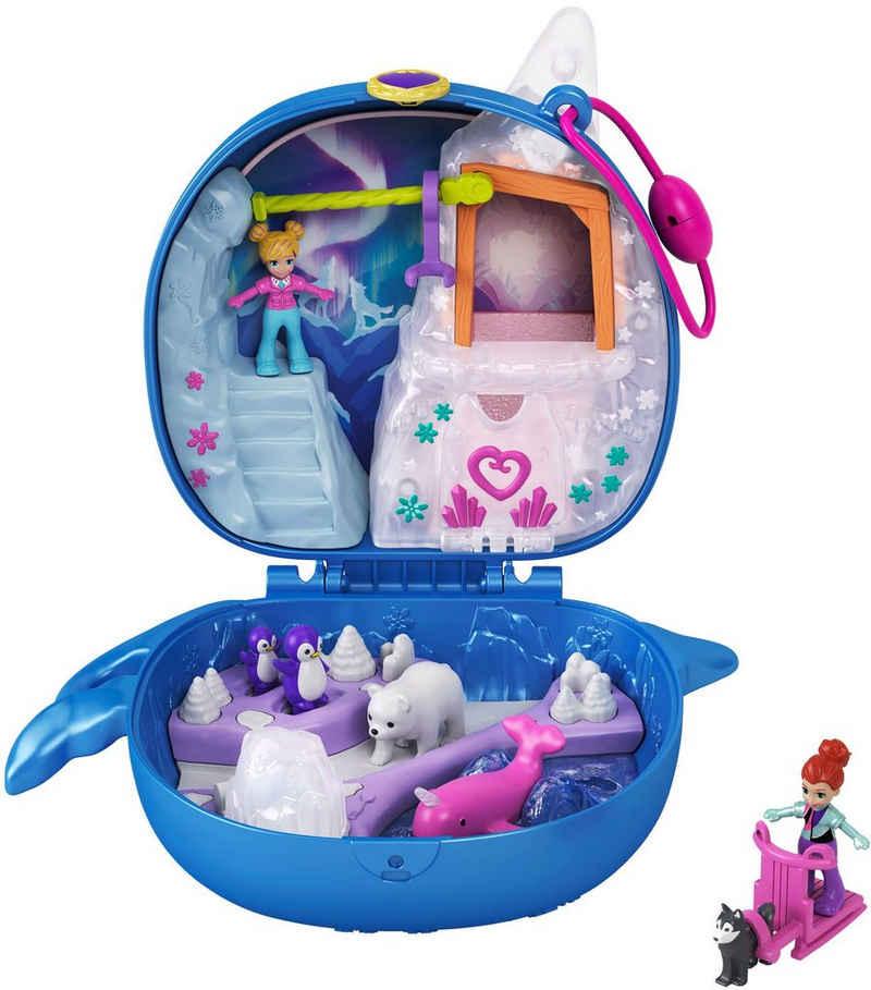 Mattel® Spielwelt »Polly Pocket Narwal-Eisspaß Schatulle«, Sammelfigur