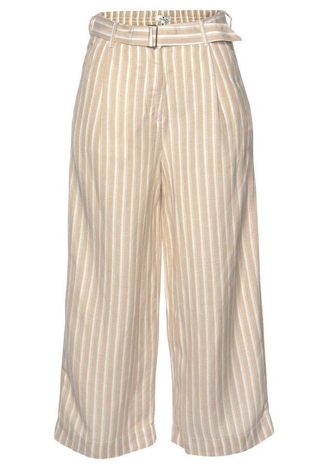 tom tailor -  Culotte (mit abnehmbarem Gürtel) in 3/4 Länge und im tollen Streifen-Look