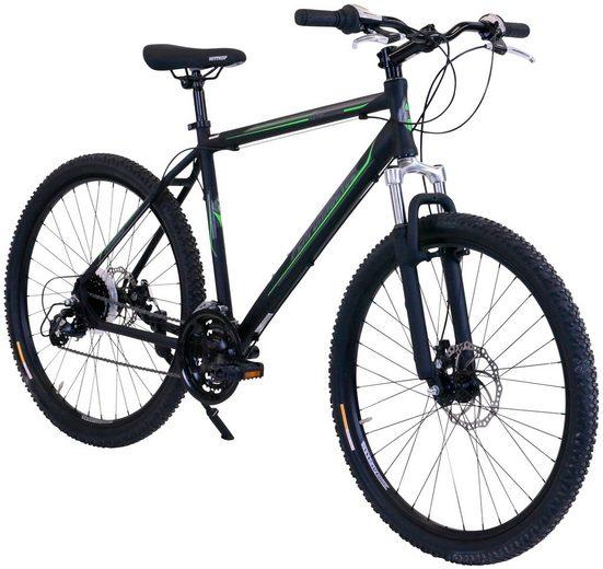 PERFORMANCE Mountainbike 27,5 Zoll, 24 Gang, Scheibenbremse