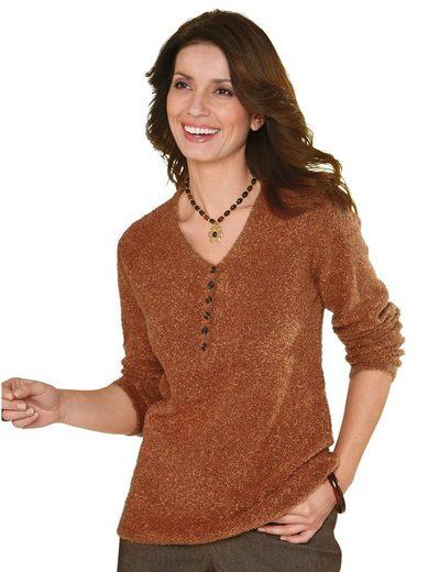 Classic Basics V-Ausschnitt-Pullover