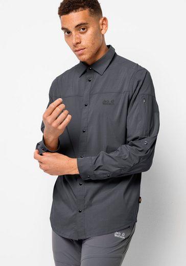 Jack Wolfskin Outdoorhemd »KENOVO LS SHIRT M«