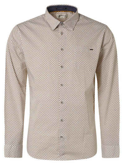 NO EXCESS Langarmhemd »Shirt, printed, stretch«