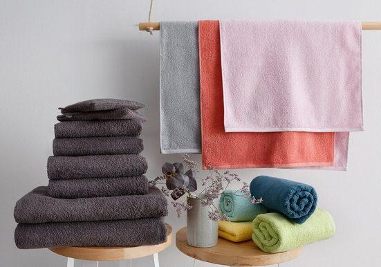 OTTO products Handtuch Set »Neele« (Set, 8-tlg), aus reiner Bio Baumwolle