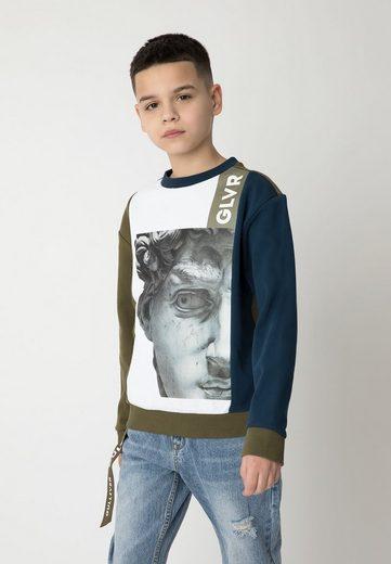 Gulliver Sweatshirt mit großem Fotodruck
