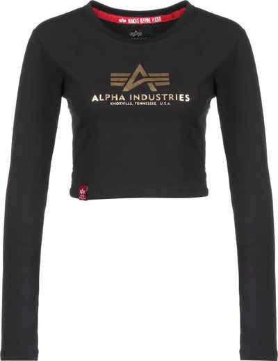 Alpha Industries Longsleeve »Basic«