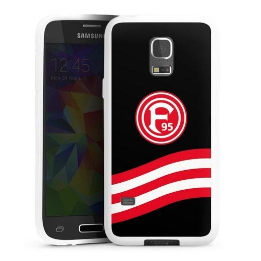 DeinDesign Handyhülle »Schwung F95« Samsung Galaxy S5 mini, Hülle F95 Bundesliga Fortuna Düsseldorf